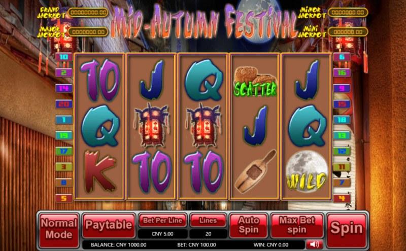 Mid-Autumn Festival :: Main Game Board