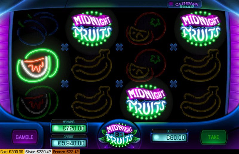 Midnight Fruits 81 :: Four of a kind Win