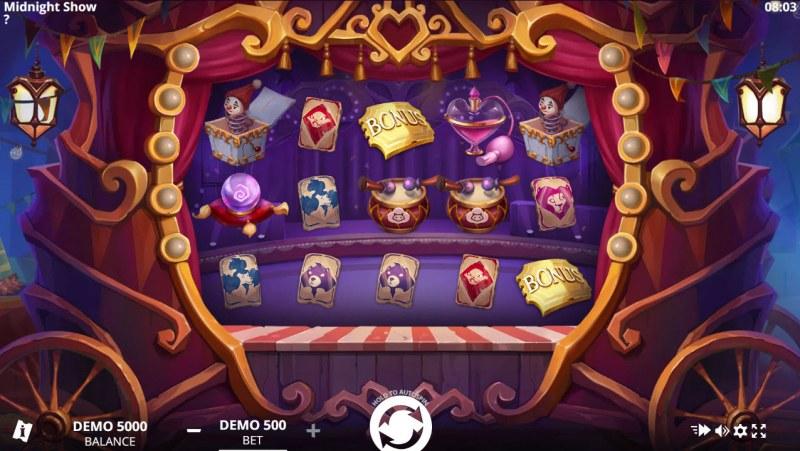 Midnight Show :: Main Game Board