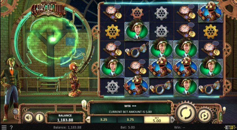 Miles Bellhouse and the Gears of Time :: Main Game Board