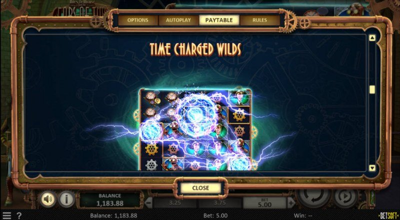 Miles Bellhouse and the Gears of Time :: Wild Symbols Rules