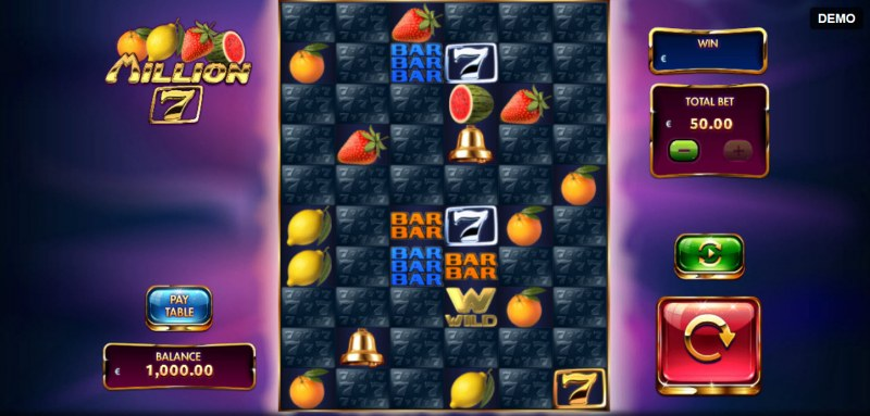Million 7 :: Main Game Board