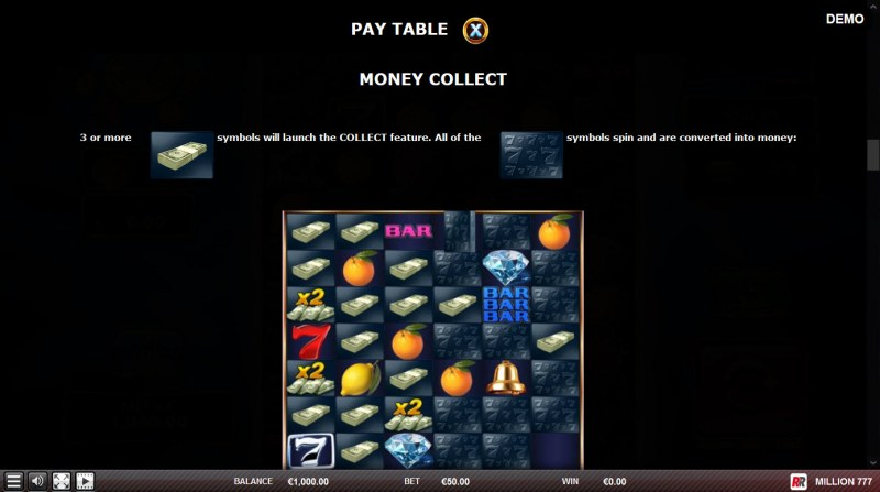 Million 777 :: Money Collect