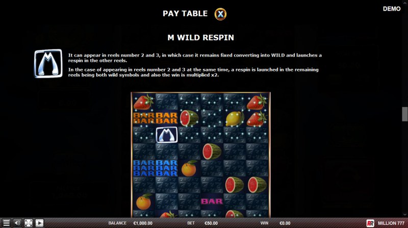 Million 777 :: M WIld Respin