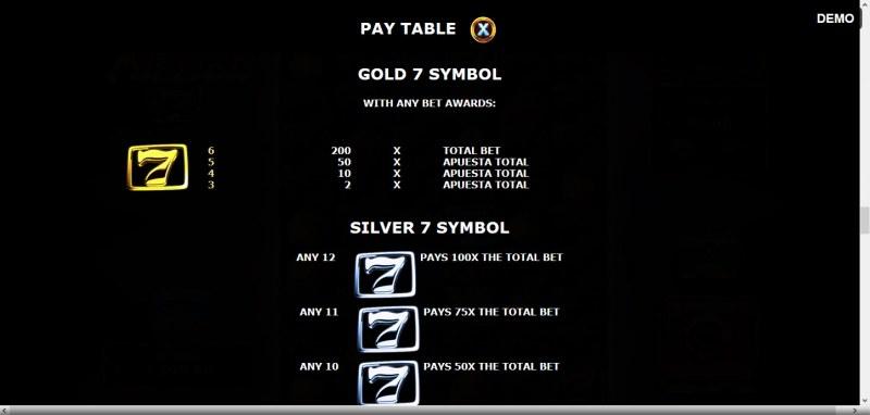 Million 7 :: Gold 7