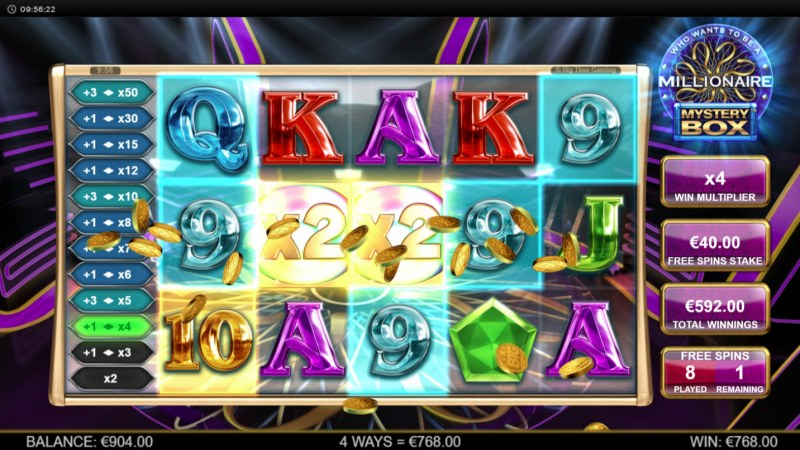 Play slots at Reel Vegas: Reel Vegas featuring the Video Slots Millionaire Mystery Box with a maximum payout of $250,000