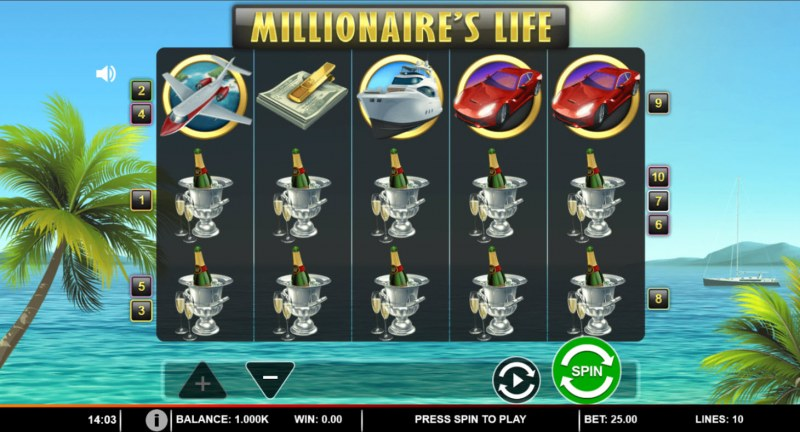 Millionaire's Life :: Main Game Board