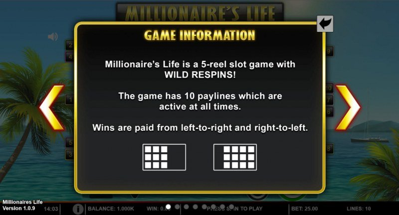 Millionaire's Life :: Game Information