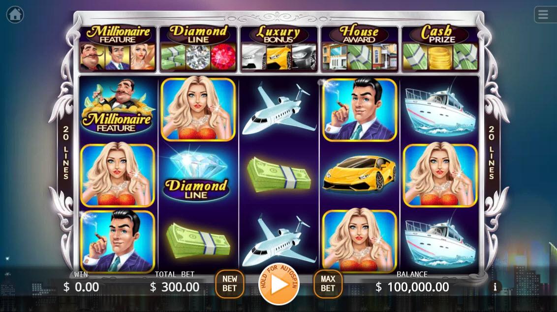 Millionaires :: Main Game Board