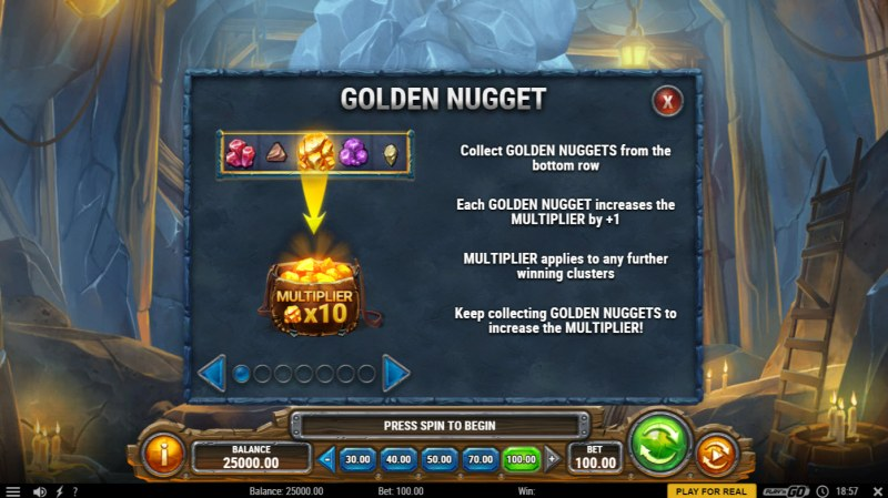 Miner Donkey Trouble :: Golden Nugget