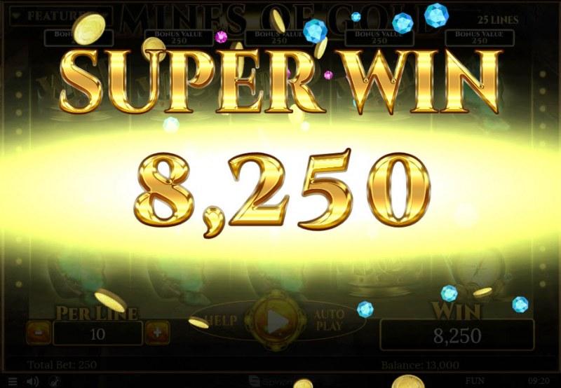 Mines of Gold :: Super Win
