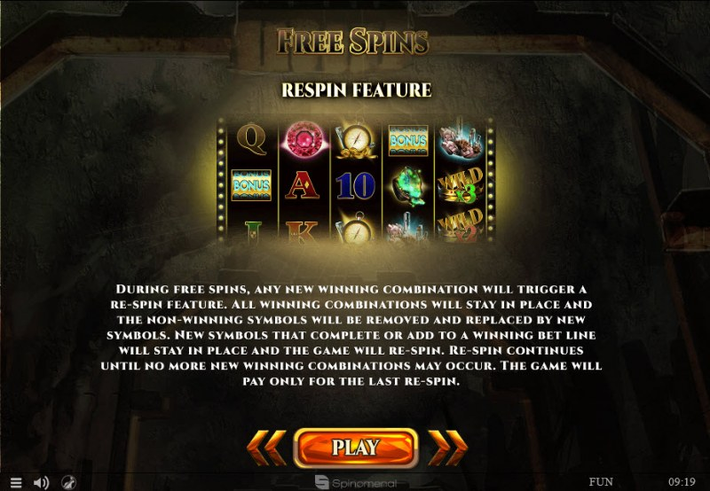Mines of Gold :: Feature Rules