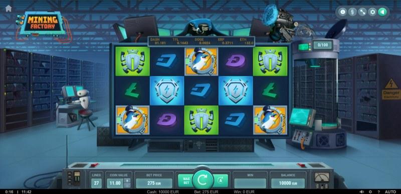 Mining Factory :: Main Game Board