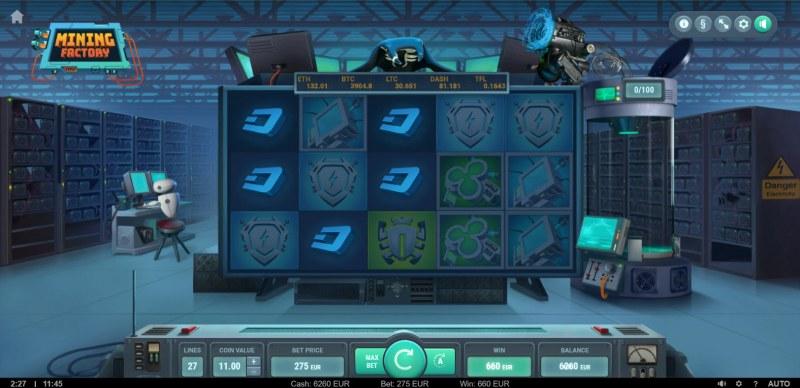 Mining Factory :: Multiple winning combinations