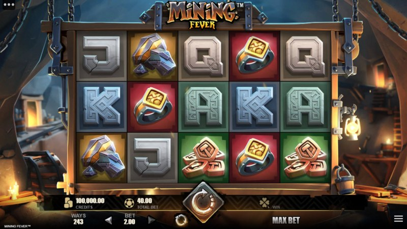 Mining Fever :: Main Game Board