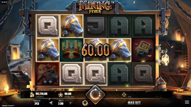 Mining Fever :: Multiple winning combinations