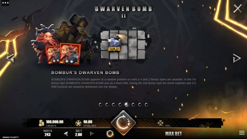 Mining Fever :: Dwarven Bomb Feature