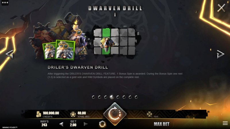 Mining Fever :: Driler's Dwarven Drill Feature