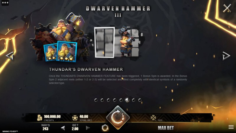 Mining Fever :: Dwarven Hammer Feature