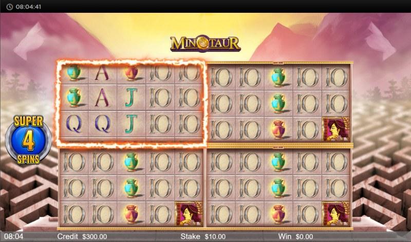 Minotaur :: Super Spins Game Board
