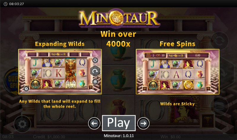 Minotaur :: Feature Rules