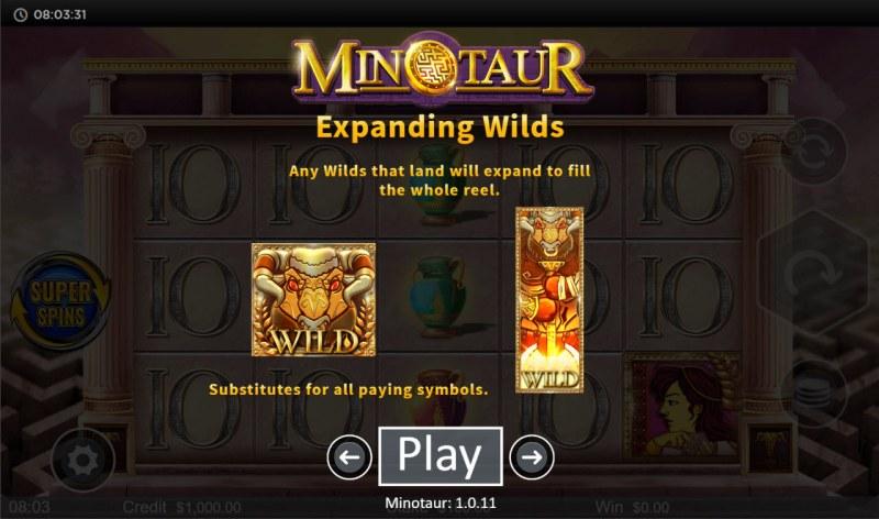 Minotaur :: Expanding Wild