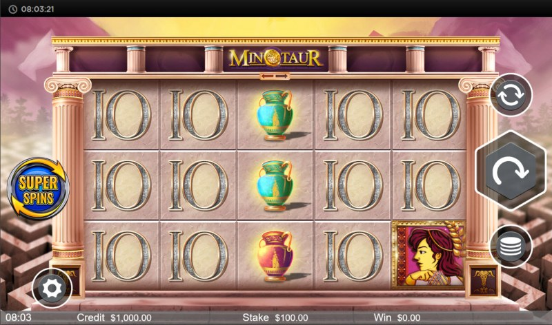 Minotaur :: Main Game Board