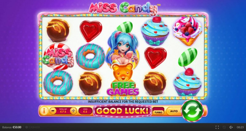 Miss Candy :: Main Game Board