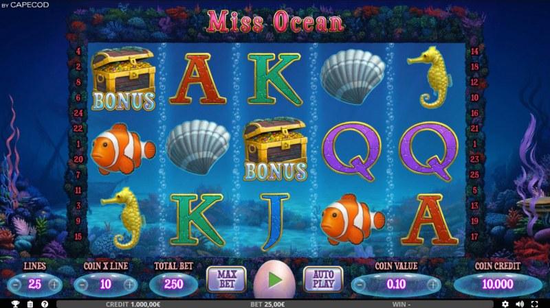 Miss Ocean :: Main Game Board