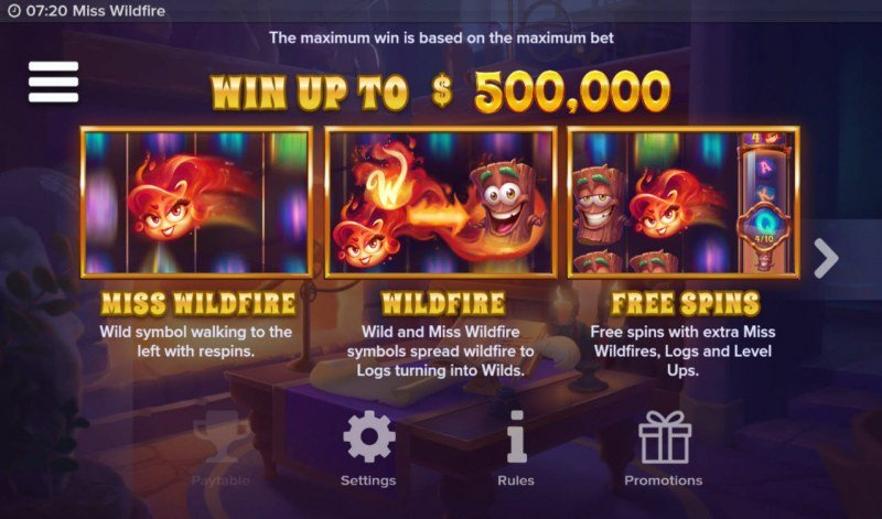 Miss Wildfire :: Win Up To $500,000