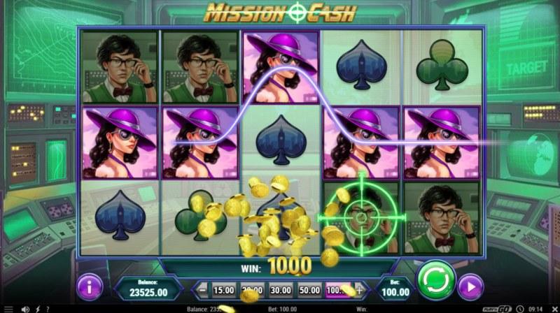 Mission Cash :: Five of a kind