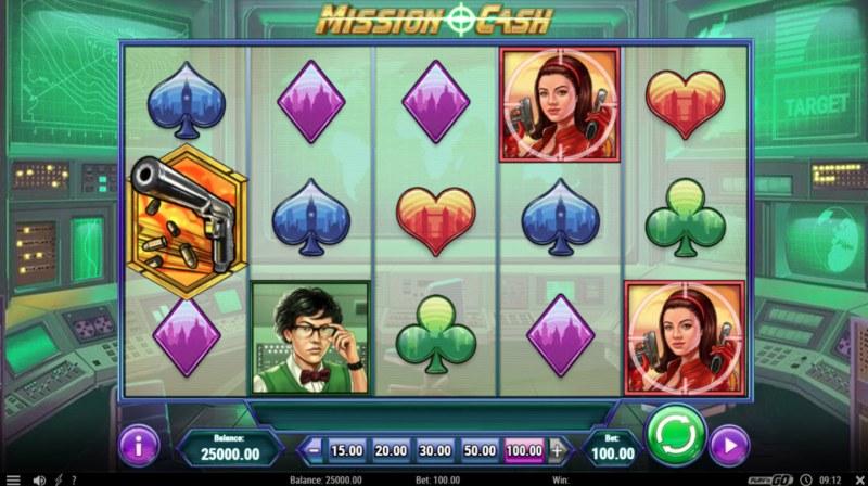 Mission Cash :: Main Game Board