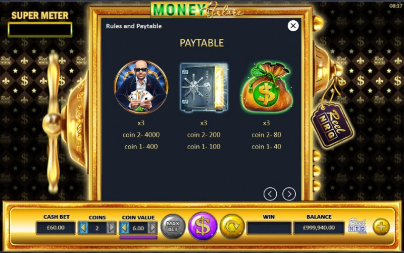 Money Galore :: Paytable - High Value Symbols