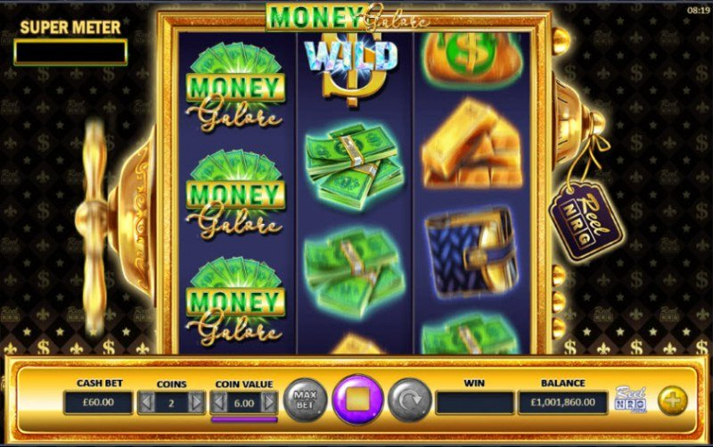 Money Galore :: Respin triggered