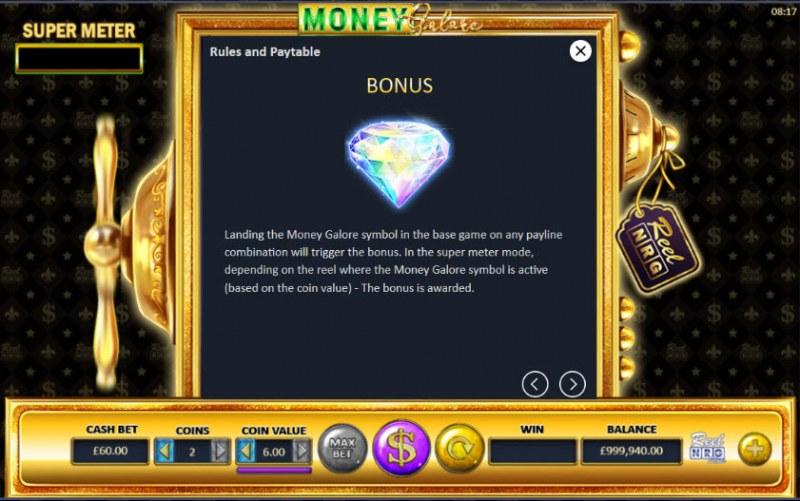 Money Galore :: Bonus