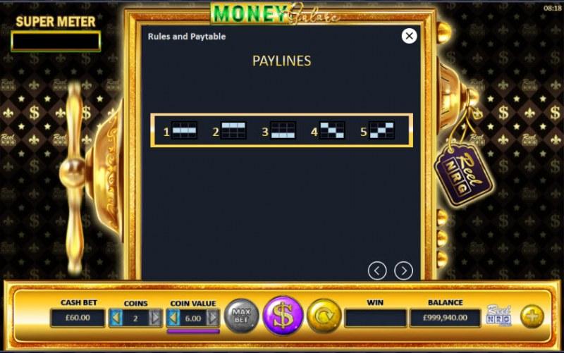 Money Galore :: Paylines 1-5