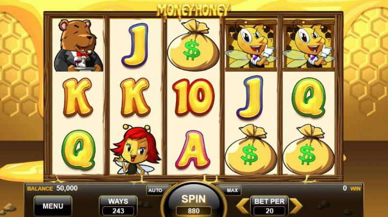 Money Honey :: Main Game Board