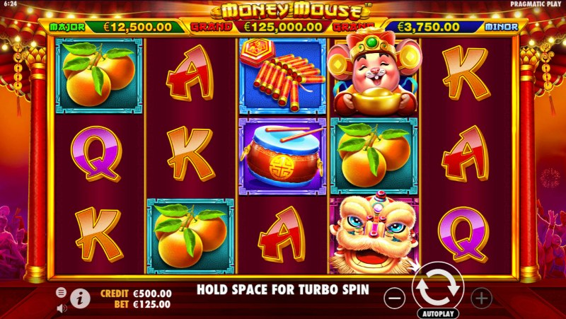 Play slots at Viggoslots: Viggoslots featuring the Video Slots Money Mouse with a maximum payout of $125,000