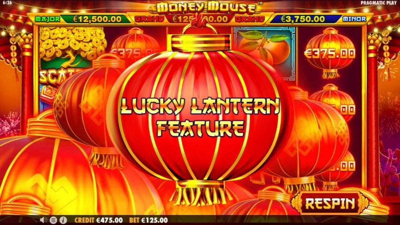 Money Mouse :: Scatter symbols triggers bonus feature