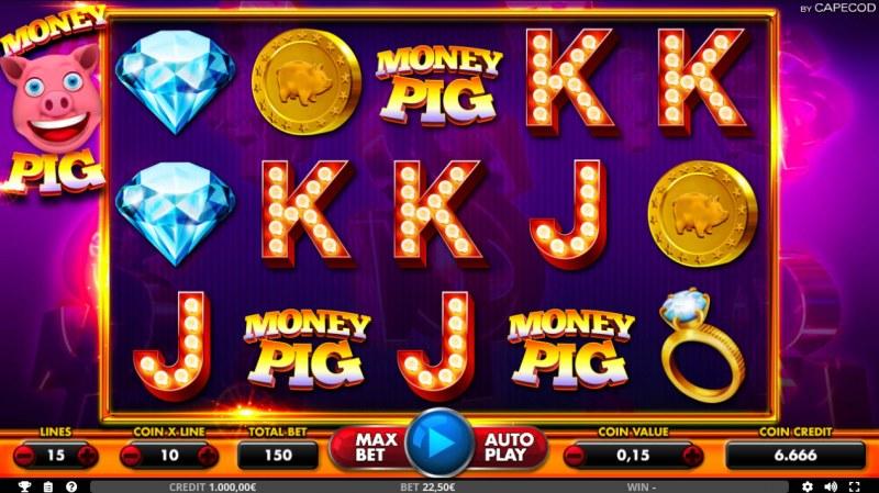 Money Pig :: Main Game Board