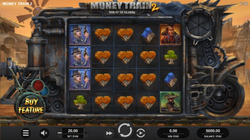 Money Train 2 :: Main Game Board