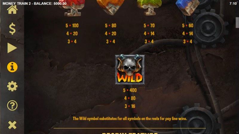 Money Train 2 :: Wild Symbols Rules