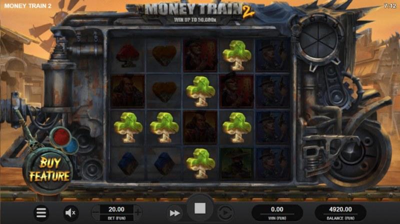 Money Train 2 :: Multiple winning paylines
