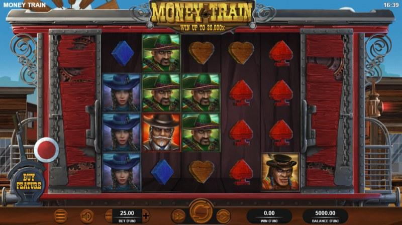 Money Train :: Main Game Board