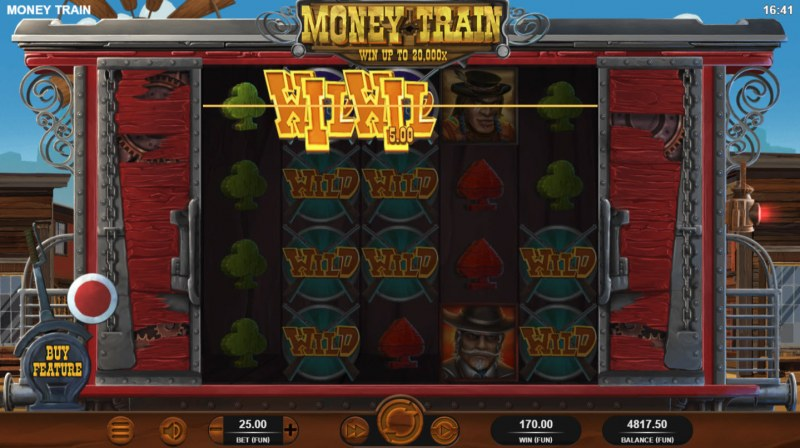 Money Train :: Multiple winning paylines