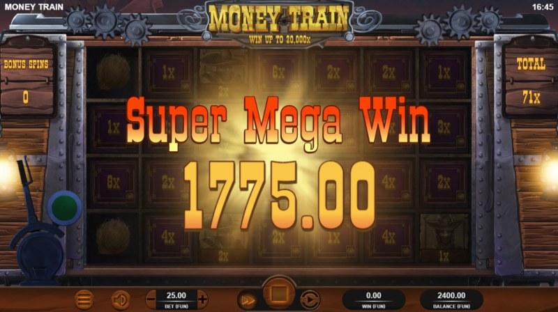 Money Train :: Total bonus payout