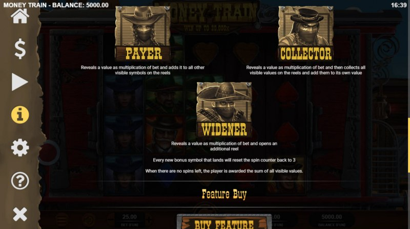 Money Train :: Bonus Game Rules