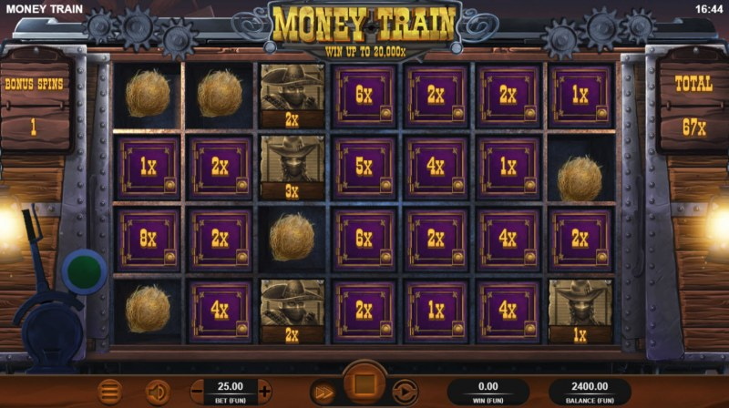 Money Train :: Collect win multipliers