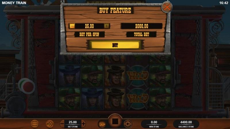 Money Train :: Buy Feature