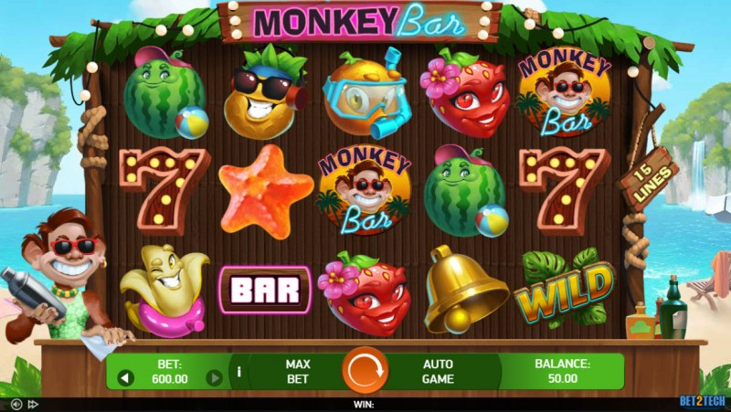 Monkey Bar :: Main Game Board